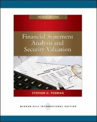 financial statement analysis and security valuation 4th edition solution manual
