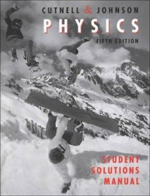 student solutions manual to accompany physics 9th edition