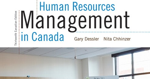 human resources management dessler 12th edition solutions manual