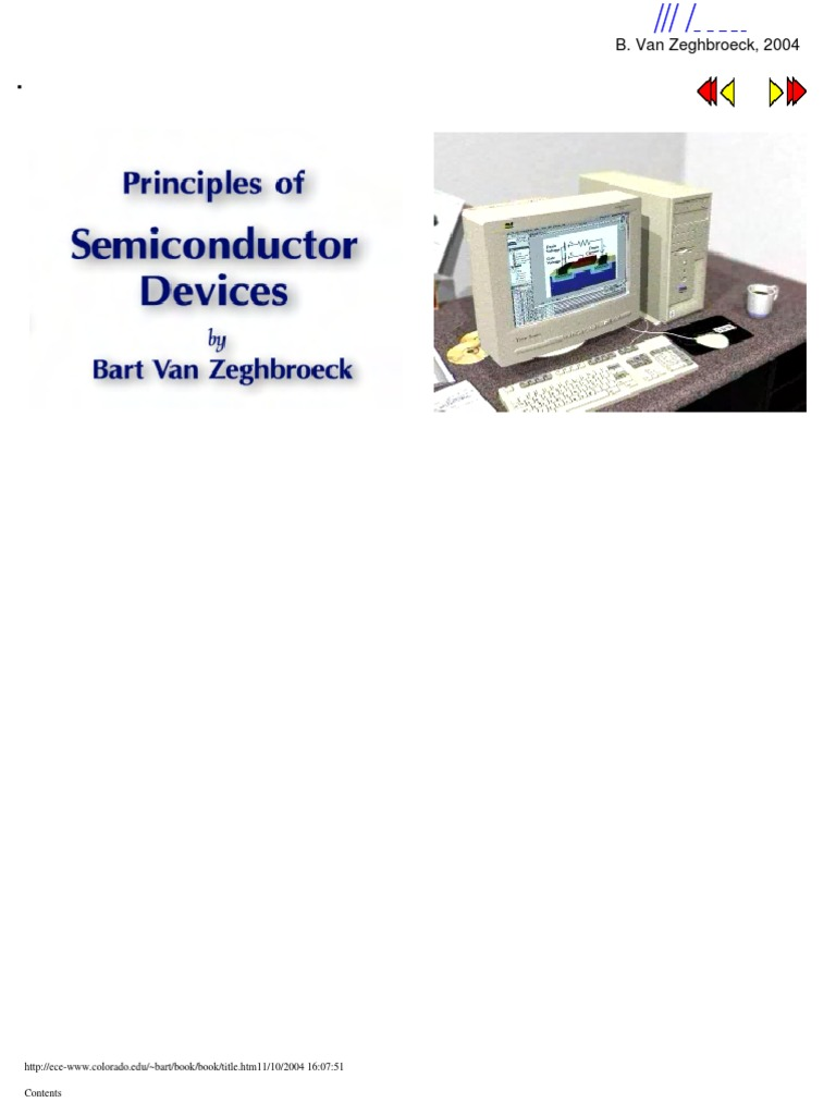 principles of semiconductor devices by bart van zeghbroeck solution manual