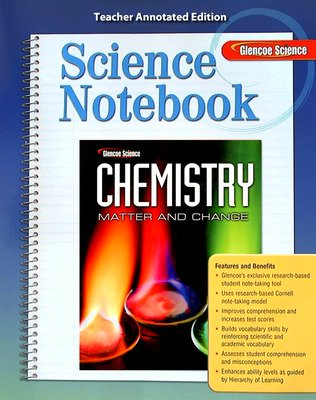 glencoe science chemistry matter and change solutions manual